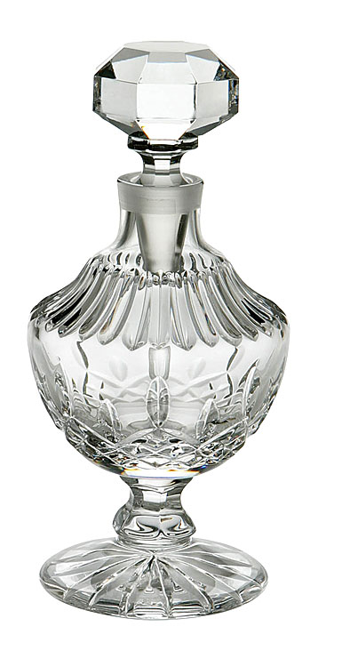 Waterford Lismore Tall Footed Crystal Perfume Bottle