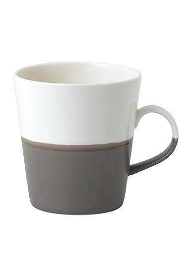 Royal Doulton Coffee Studio Grande Mug Dark Grey, Single