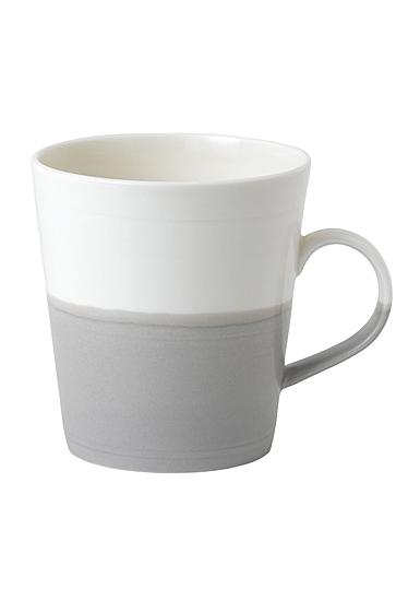Royal Doulton Coffee Studio Grande Mug Grey, Single