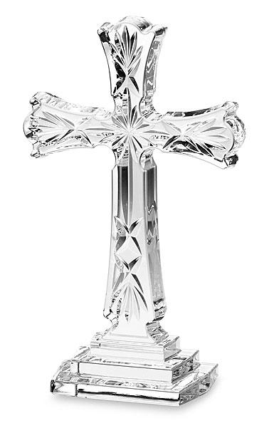 Waterford Crystal Standing Cross