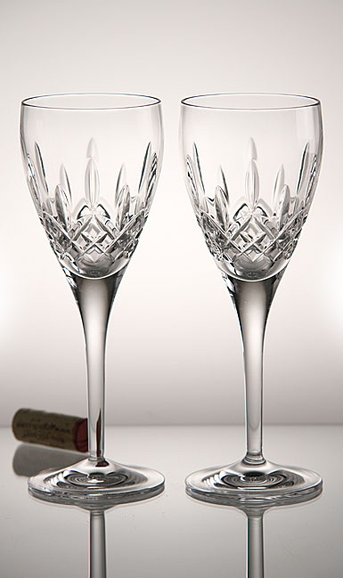 Waterford Crystal, Lismore Nouveau Wine, Pair