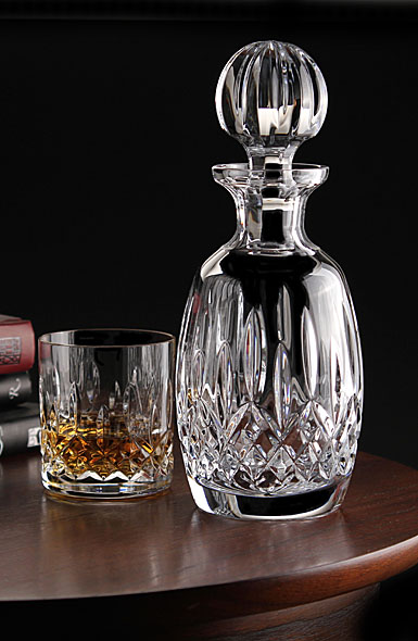 Waterford Lismore Rounded Crystal Decanter
