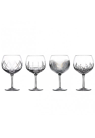 Waterford Crystal Gin Journeys Balloon Glasses, Set of Four