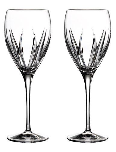 Waterford Crystal Ardan Tonn Wine Glasses, Pair