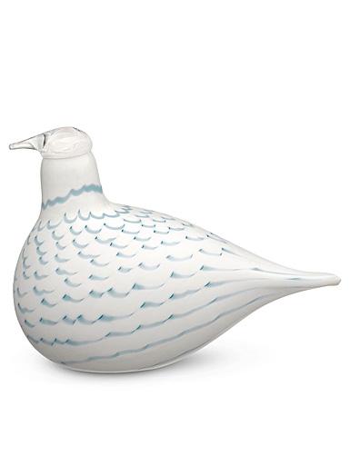 """Iittala Birds By Toikka Finnfest Snow Grouse 6"""""""