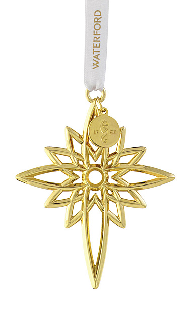 Waterford 2021 Star Golden Ornament
