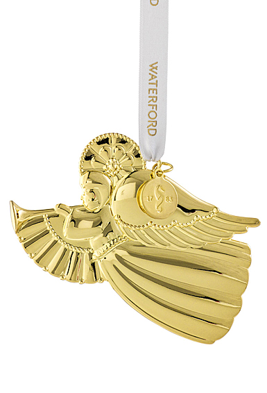 Waterford Crystal 2021 Angel Golden Ornament