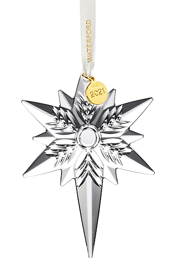 Waterford Crystal 2021 Snowstar Dated Ornament