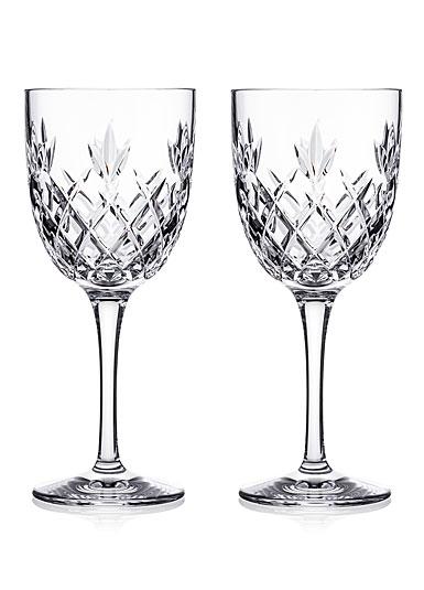 Waterford Crystal Amarant White Wine, Pair