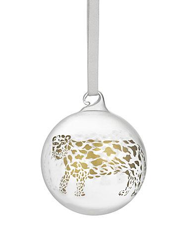 Iittala 2021 Christmas Ball Onament, Cheetah