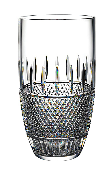 "Waterford Master Craft Irish Lace 12"" Vase"