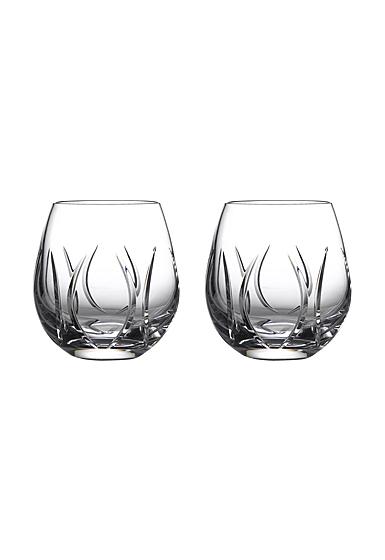 Waterford Crystal Ardan Tonn Stemless Wine Pair