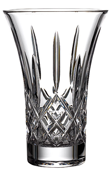 """Waterford Crystal, Treasures of the Sea Lismore 8"""" Flared Vase, Clear"""
