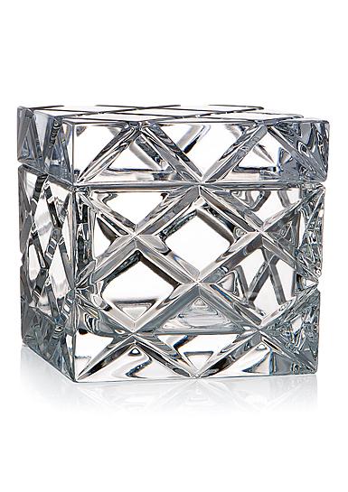 Rogaska Criss Cross Covered Box