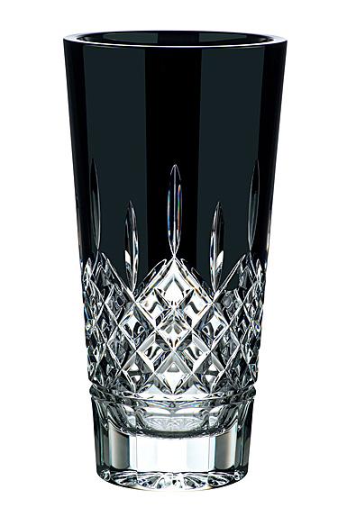 """Waterford Crystal Lismore Black Vase 12"""""""