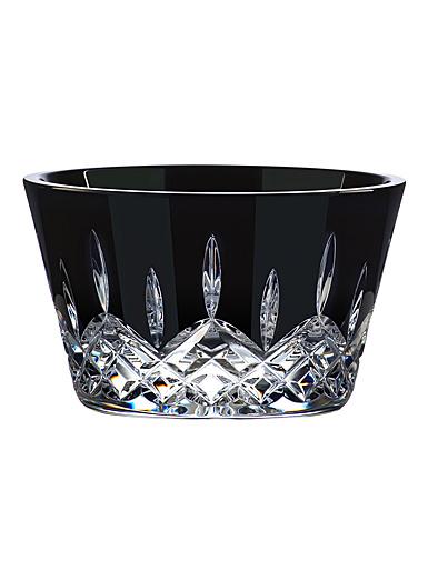 "Waterford Crystal Lismore Black Multipurpose 5"" Bowl"