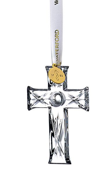 Waterford Crystal 2021 Mini Cross Ornament