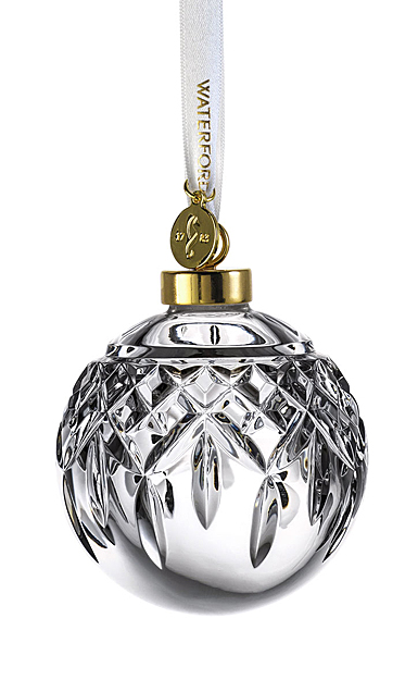 Waterford Crystal 2021 Lismore Bauble Ornament
