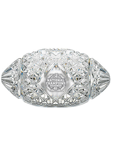 Waterford Crystal, Alabama, 2020 College Football National Champions Football Paperweight