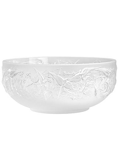 """Lalique Hirondelles 10"""" Bowl"""