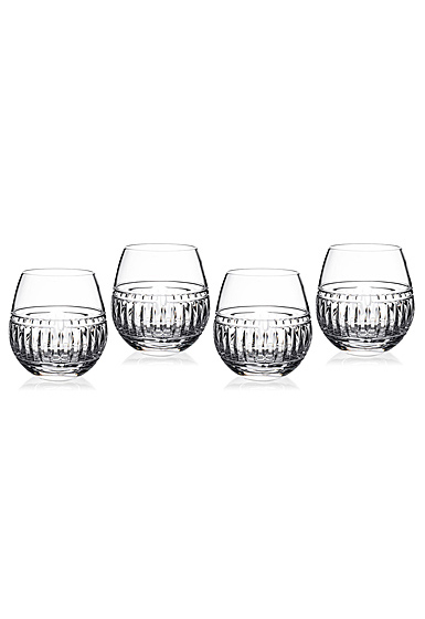 Marquis by Waterford Addison Stemless Wine Glasses, Set of 4
