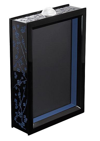 Lalique Fleurs De Cerisiers Lacquer Photo Frame