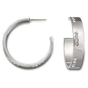 Swarovski Mayfair Round Pierced Earrings