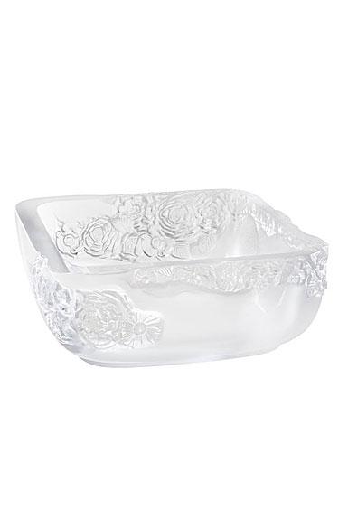 """Lalique Pivoines 10"""" Bowl"""