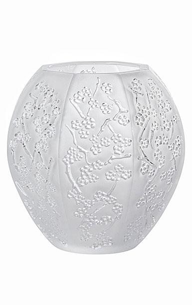 "Lalique Sakura 4.5"" Vase, Clear"