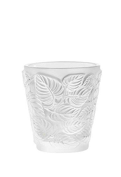 Lalique Feuilles Votive Candleholder, Single