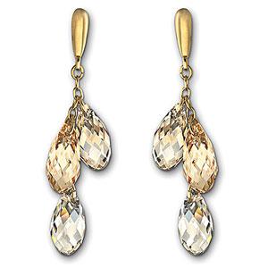 Swarovski Lagoon Pierced Earrings