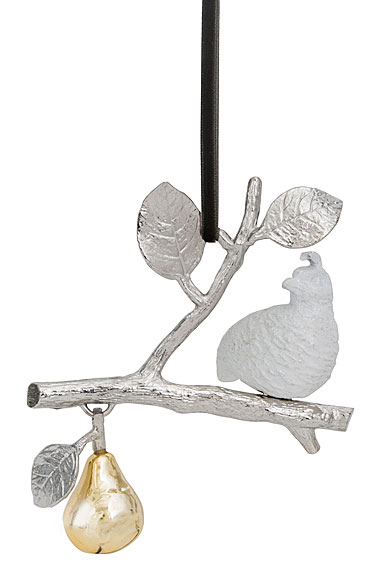 Michael Aram Partridge in A Pear Tree Ornament