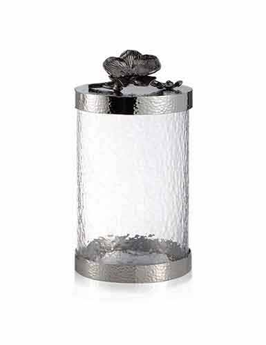 Michael Aram Black Orchid Canister, Medium