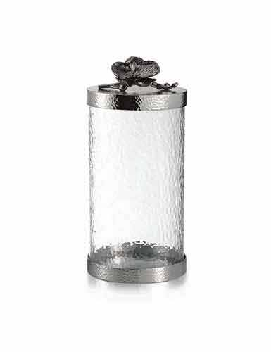 Michael Aram Black Orchid Canister, Large