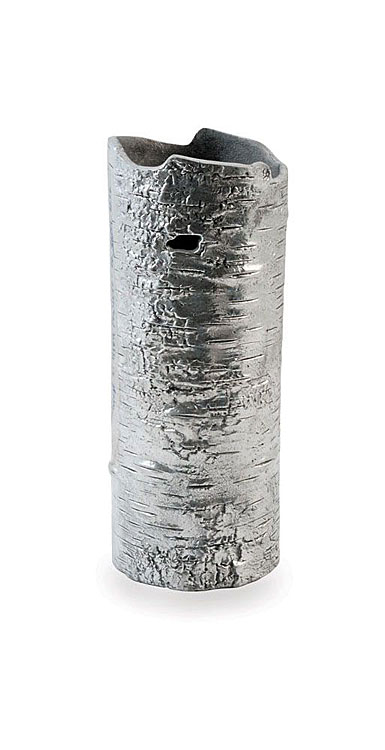 "Michael Aram Bark 10"" Vase, Polished"