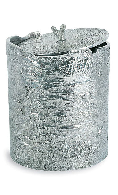 Michael Aram Bark Ice Bucket, Polished