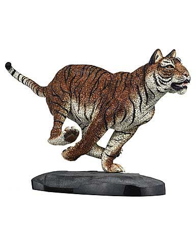 Swarovski Crystal, Myriad Tiger Sabu Sculpture