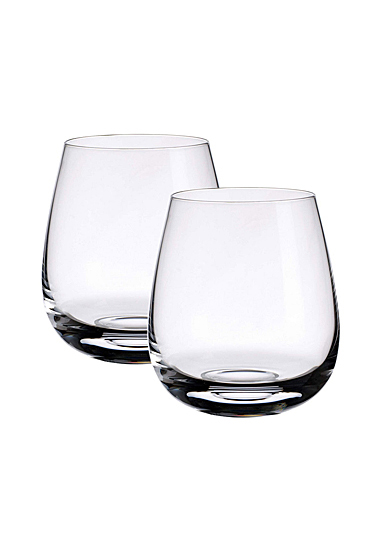 Villeroy and Boch Scotch Whisky Single Malt Islands Whisky Tumbler Pair