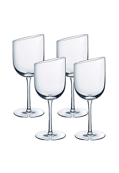 Villeroy and Boch NewMoon Glass Claret Set of 4