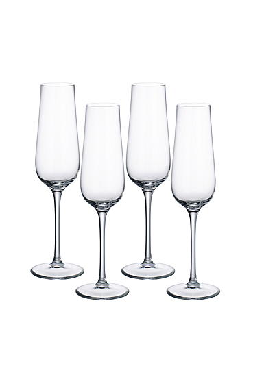 Villeroy and Boch Purismo Special Champagne Set of Four