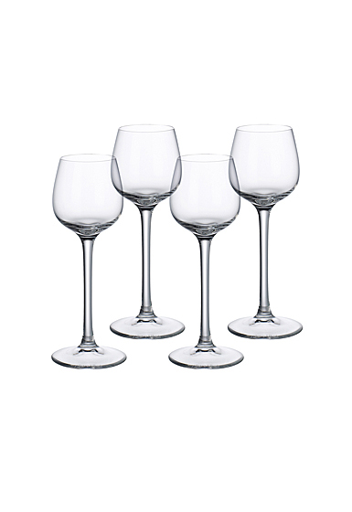 Villeroy and Boch Purismo Special Spirits Glass Set of 4