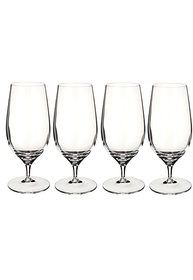 Villeroy and Boch Purismo Beer Goblet Set of 4