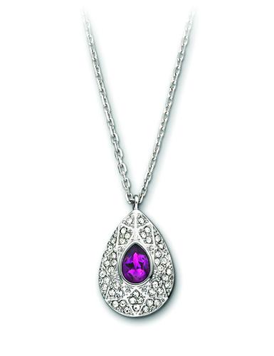 Swarovski Amethyst Sophisticated Pendant Necklace