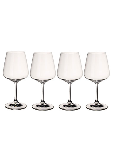 Villeroy and Boch Ovid Red Wine Set of 4