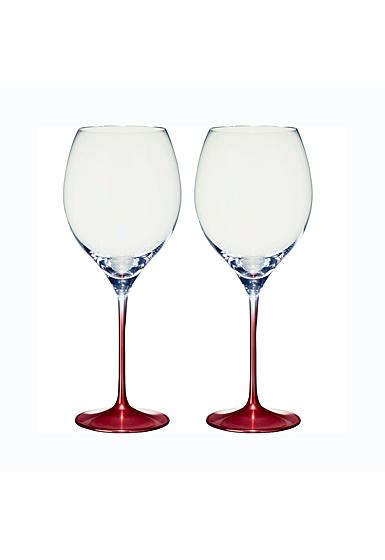 Villeroy and Boch Allegorie Premium Rose Bordeaux, Grand Cru Pair