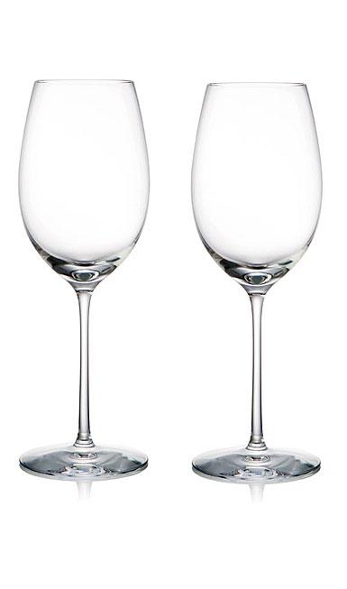Rogaska Crystal, 1665 Expert Crystal White Wine Pair