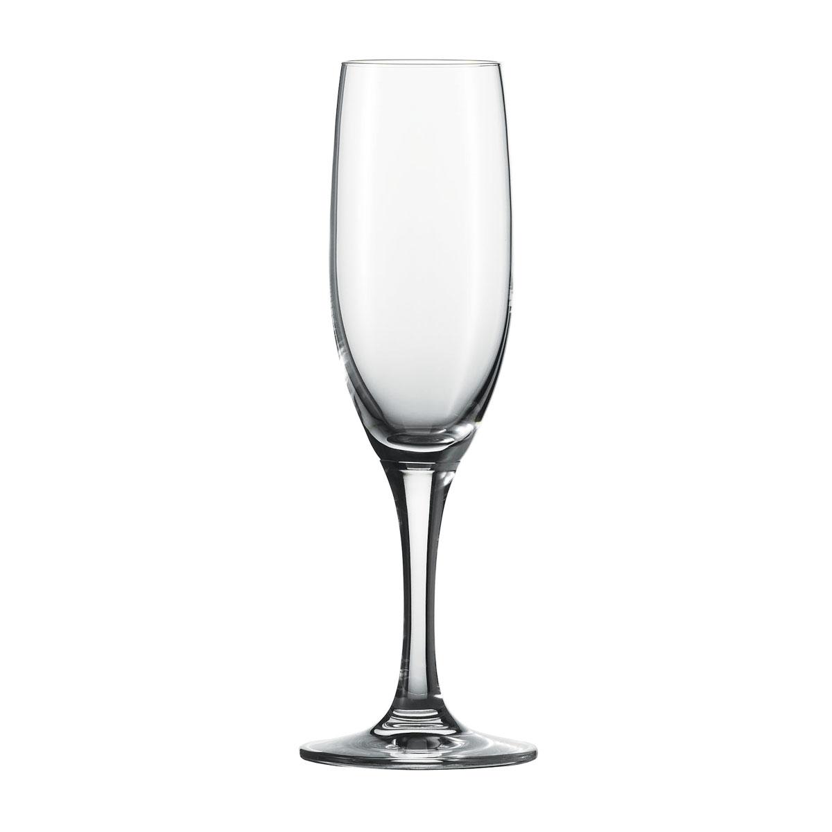Schott Zwiesel Tritan Crystal, Mondial Crystal Flute Crystal Champagne, Single