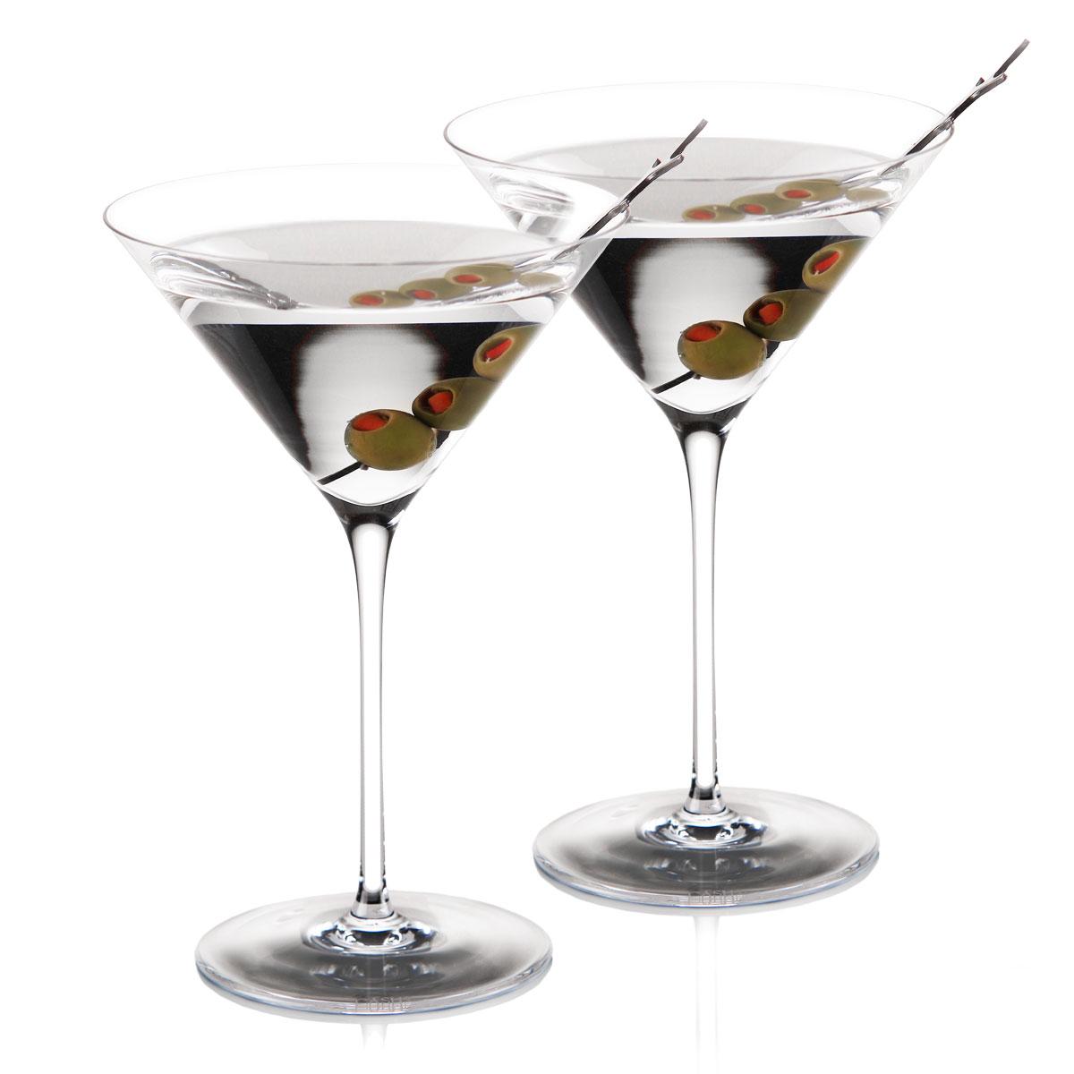 Cashs Ireland, Grand Cru Handmade Crystal, American Martini, Pair