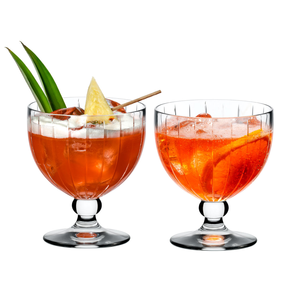 Riedel Sunshine Coupe Footed Cocktail, Pair