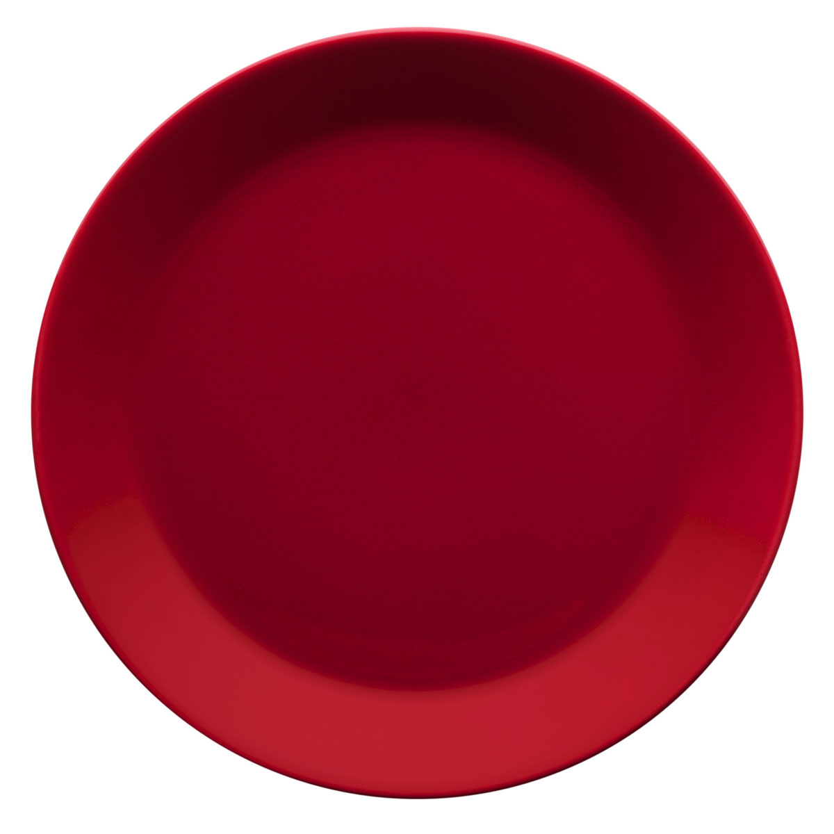 "Iittala Teema Salad Plate 8.5"" Red"